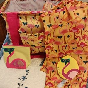 Thirty One Flamingo Set